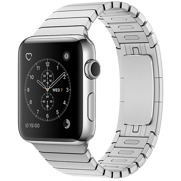 Apple Watch Series 2 42mm Stainless Steel Case with Link Bracelet اپل واچ سری 2 استیل مردانه مدل Stainless Steel Case with Link Bracelet