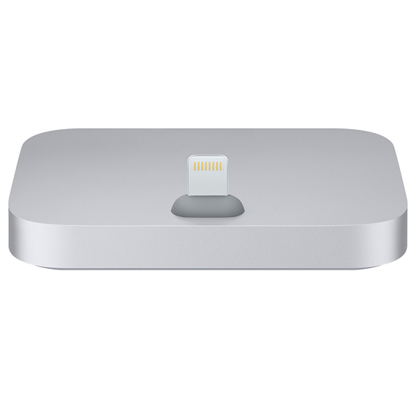 Apple Lightning Dock for iPhone Gray پایه شارژ اپل مدل iPhone Lightning خاکستری