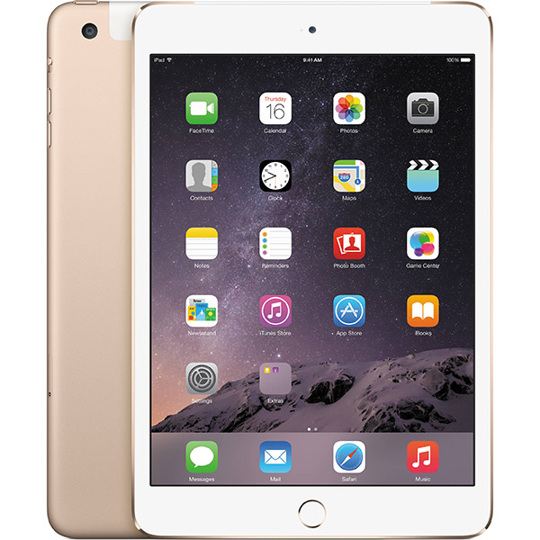 iPad mini 3 4G 64GB Gold