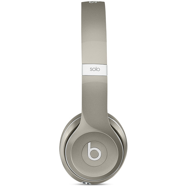Beats Solo 2 On-Ear Headphones, Luxe Edition - Silver