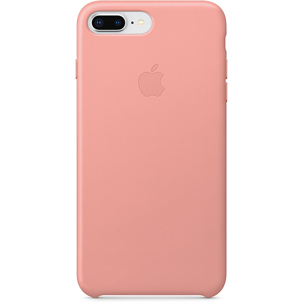 Apple iPhone 8 Plus & 7 Plus Leather Case - Soft Pink اپل کیس چرم مخصوص آیفون 7 پلاس و 8 پلاس - صورتی