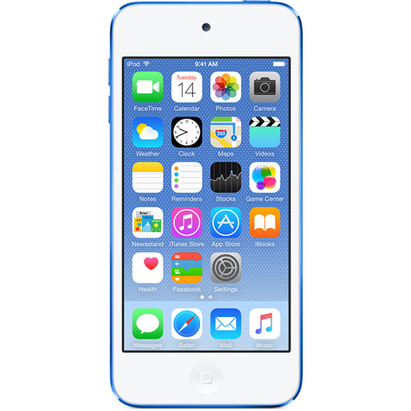 iPod Touch 6th Generation 128GB Blue