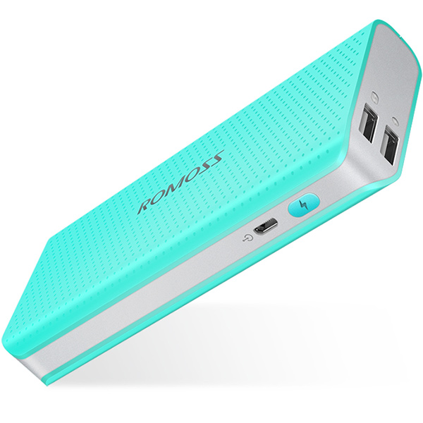 PowerBank Romoss Sense 4 LED 10400mAh - Blue