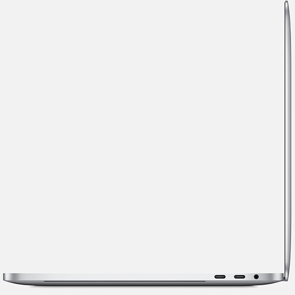 "Macbook Pro 15"" MR972 (2018) Retina with Touch Bar and Touch ID i7, 16GB, 512GB - Silver مک بوک پرو 15 اینچ 2018 رتینا i7 مدل MR972 هارد 512 گیگابایت SSD نقره ای"