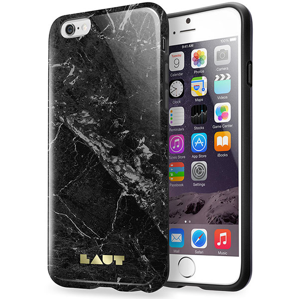 Laut HUEX Elements for iPhone 6 Plus nd 6s Plus - Marble White لاوت کیس آیفون مدل HUEX Elements مخصوص آیفون 6 پلاس و 6s پلاس سفید