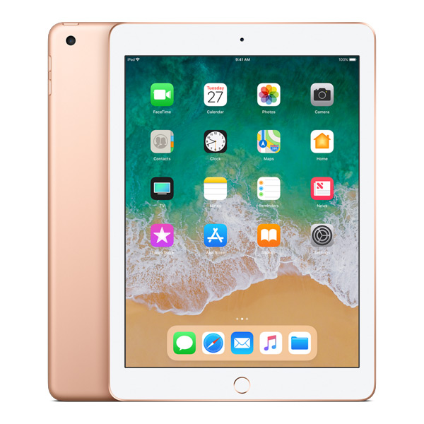 iPad (6th Gen) 32GB WiFi - Gold