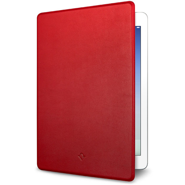 Twelve South Surface Pad Case for iPad 9.7 inch 2018 and 2017 - Red