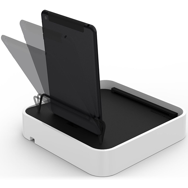 BlueLounge Sanctuary 4 Charger Station for iPhone - White بلولانژ شارژر رومیزی بلولانژ مدل Sanctuary 4 سفید