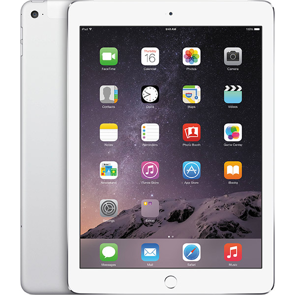 iPad Air 2 WiFi/4G 16GB Silver