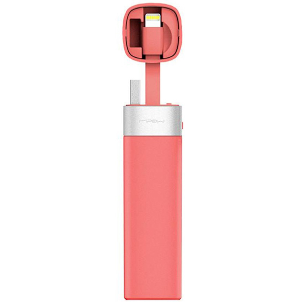 PowerBank MiPOW Power Tube 3000 Lightning Version SPL06 - Pink