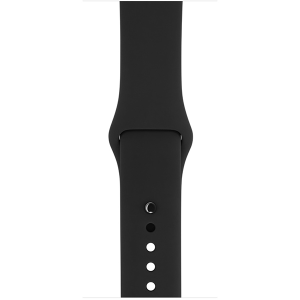 Apple Watch Series 1 Sport 38mm Space Gray Aluminum Case with Black Sport Band اپل واچ سری 1 اسپرت زنانه مدل Space Gray Aluminum Case with Black Sport Band