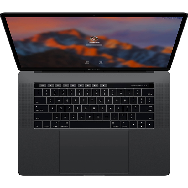 """Macbook Pro 15"""" MPTW2 (2017) Retina with Touch Bar and Touch ID i7, 16GB, 1TB - Space Gray"""
