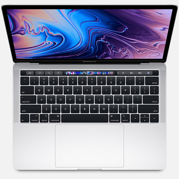 "Macbook Pro 13"" MR9U2 (2018) Retina with Touch Bar and Touch ID i5, 8GB, 256GB - Silver"