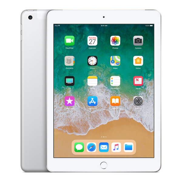 iPad (6th Gen) 32GB WiFi/4G - Silver