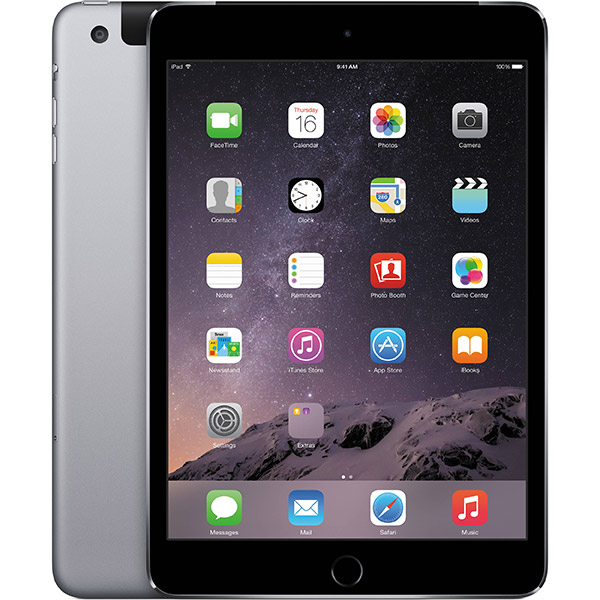 iPad mini 3 4G 16GB Space Gray