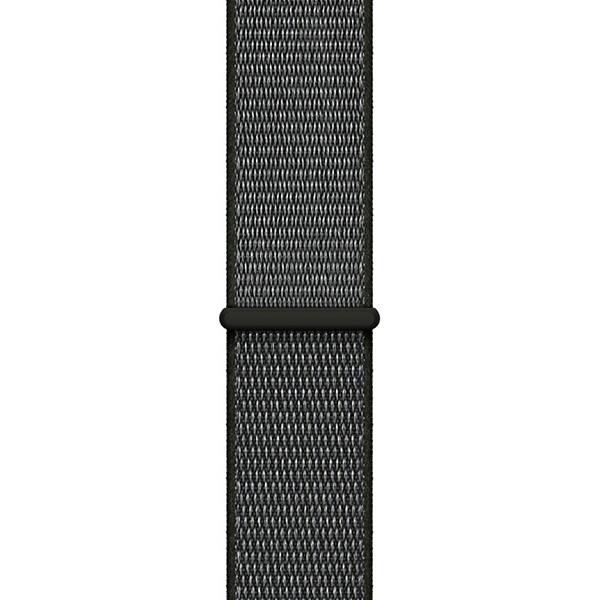 Apple Watch Series 3 38mm Space Gray Aluminum Case with Dark Olive Sport Loop - GPS + Cellular اپل واچ سری 3 اسپرت زنانه 38 میلیمتری Space Gray Aluminum Case with Dark Olive Sport Loop - سلولار