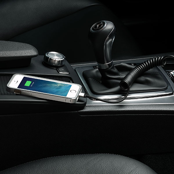 Just Mobile Highway Max Car Charger With Lightning Cable CC-178 جاست موبایل مدل Highway Max به همراه کابل لایتنینگ