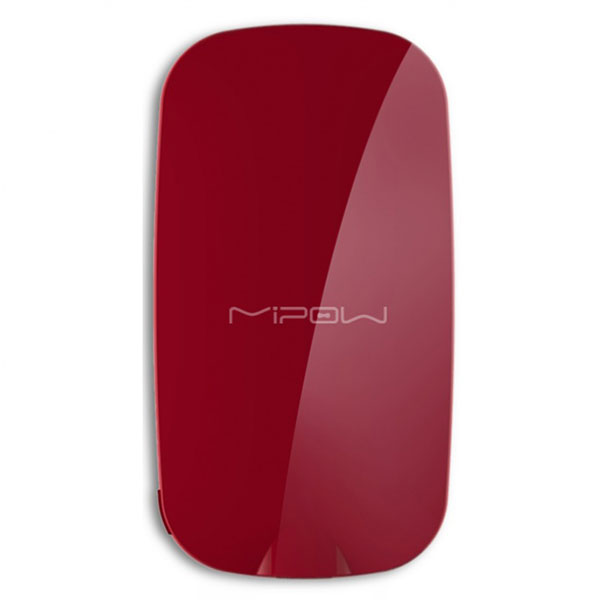 PowerBank MiPOW Power Mirror 3000mAh SPM006 - Red پاوربانک مایپو پاور میرور 3000 میلی آمپر SMP006 - قرمز