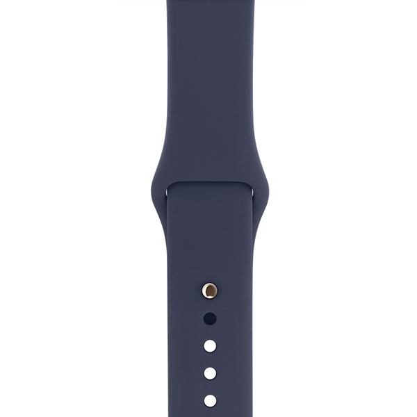 Apple Watch Series 1 Sport 38mm Gold Aluminum Case with Midnight Blue Sport Band اپل واچ سری 1 اسپرت زنانه مدل Gold Aluminum Case with Midnight Blue Sport Band