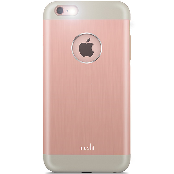 Moshi iGlaze Armour For iPhone 6 Plus and 6s Plus - Rose Gold