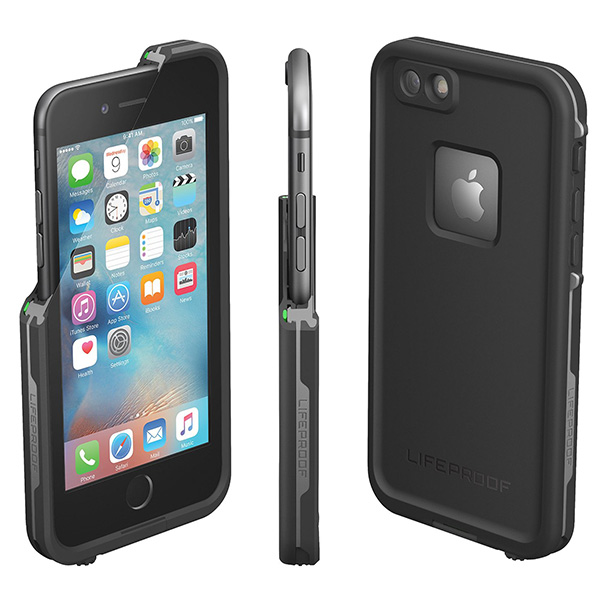 LifeProof Fre For Apple iPhone 6 and 6s Black - 52563 لایف پروف اسپرت ضدآب Fre مخصوص آیفون 6 و 6s مشکی