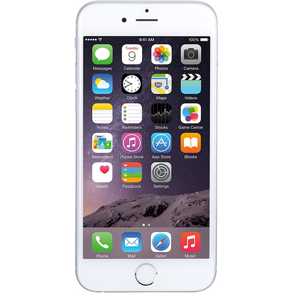 iPhone 6 16GB Silver LL/A آیفون 6 16 گیگابایت نقره ای پارت آمریکا