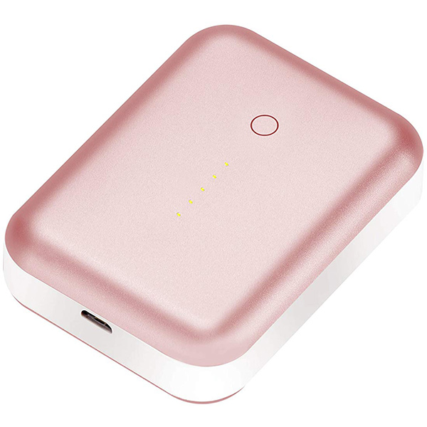 PowerBank Justmobile Gum++ Portable USB Power Pack6000 mAh Alu-Pink PP-268APK