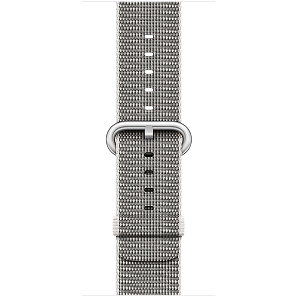 Apple Watch Series 2 Sport 38mm Silver Aluminum Case with Pearl Woven Nylon اپل واچ سری 2 اسپرت زنانه مدل Silver Aluminum Case with Pearl Woven Nylon