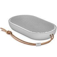 Speaker Bang and Olufsen Beoplay P2 Portable splash and dust resistant Bluetooth speaker - Natural اسپیکر بنگ اند آلفسن پرتابل بلوتوث مدل Beoplay P2 Portable نقره ای
