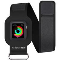 Twelve South ActionSleeve Armband for Apple Watch 42mm - Black تولو ساوت بازو بند مدل ActionSleeve مخصوص اپل واچ مردانه 42 میلیمتری مشکی