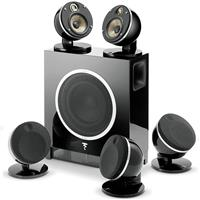 Speaker Focal Dome Pack 5.1 Flax Sub Air - Black اسپیکر فوکال مدل Dome Pack 5.1 Flax Sub Air مشکی