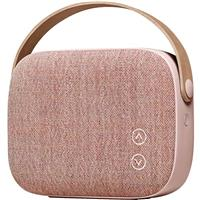 Speaker Vifa HELSINKI Powerful Bluetooth Loudspeaker With Incredible Sound - Dusty Rose اسپیکر ویفا بلوتوث مدل هلسینکی HELSINKI Powerful Bluetooth Loudspeaker صورتی رز