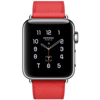 Apple Watch Series 2 Hermes 38mm Stainless Steel Case with Rose Jaipur Epsom Leather Single Tour اپل واچ سری 2 هرمس زنانه مدل Stainless Steel Case with Rose Jaipur Epsom Leather Single Tour