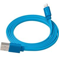 Laut LINK-Flat Lightning Cable 1.2m Blue لاوت - LINK-Flat لایتنینگ کابل 1.2 متر آبی
