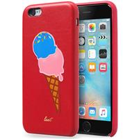 Laut KITSCH for iPhone 6 and 6s - Sprinkles (Red) لاوت کیس آیفون مدل KITSCH مخصوص آیفون 6 و 6s قرمز با طرح بستنی