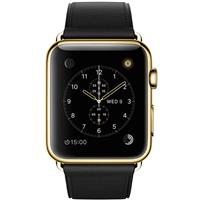 Apple Watch Edition 42mm 18-Karat Gold Black Classic Buckle MKL62 اپل واچ ادیشن مردانه طلا 18 عیار - Gold Black Classic Buckle MKL62