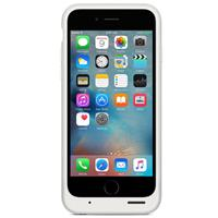 Apple Smart Battery Case For iPhone 6s - White اپل اسمارت باتری کیس مخصوص آیفون 6s - سفید