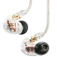 Shure SE535 Sound Isolating™ Earphones - Clear شور هدفون مدل SE535 شفاف