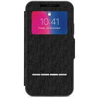 Moshi SenseCover for iPhone X - Metro Black موشی کاور آیفون موشی مدل SenseCover مخصوص آیفون ایکس مشکی