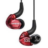 Shure SE535 Limited Edition Sound Isolating Earphone with Remote + Mic - Red شور هدفون مدل SE535 قرمز