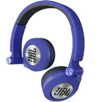 JBL E30 Synchros On-Ear Headphone Blue جی بی ال مدل ای 30 آبی Synchros On-Ear Headphone