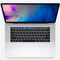 "Macbook Pro 15"" MR962 (2018) Retina with Touch Bar and Touch ID i7 16GB 256GB - Silver مک بوک پرو 15 اینچ 2018 رتینا i7 مدل MR962 هارد 256 گیگابایت SSD نقره ای"